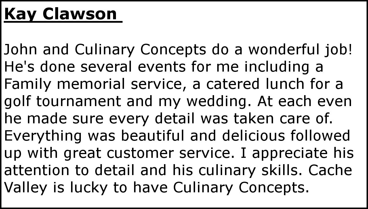 Kay Clawson Review